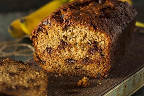 Banana Chocolate-Chip Bread