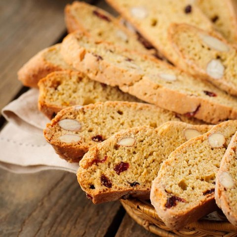 Cherry and Almond Biscotti