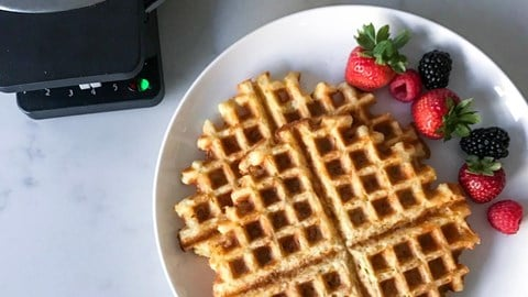 Keto Friendly Waffles (Chaffles)