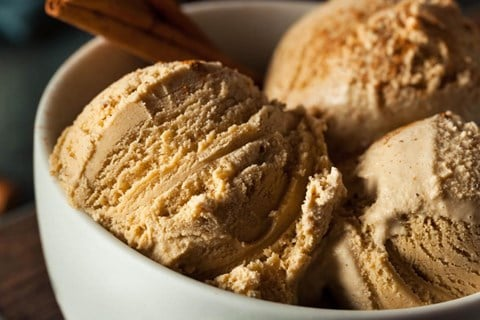 Cinnamon Spice Ice Cream