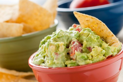 Chunky Guacamole - 1-1/2 cups For Blender