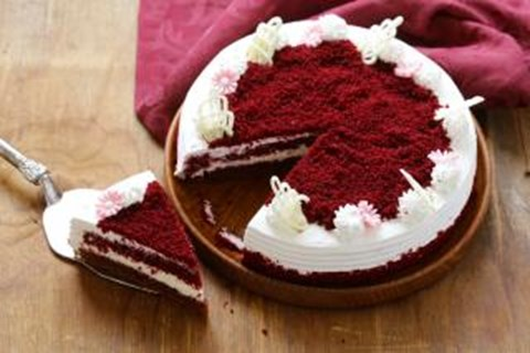Old Fashioned Red Velvet Cake