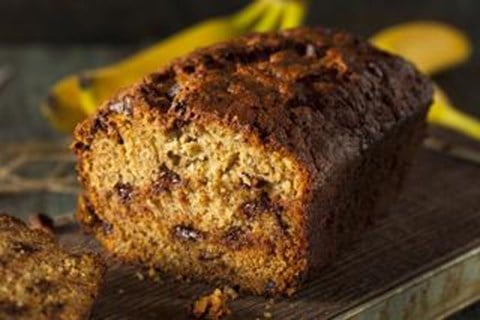 Banana Daiquiri Chocolate Chip-Nut Bread