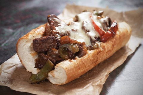 Philly Cheese Steak Sandwiches - 6 Sandwiches