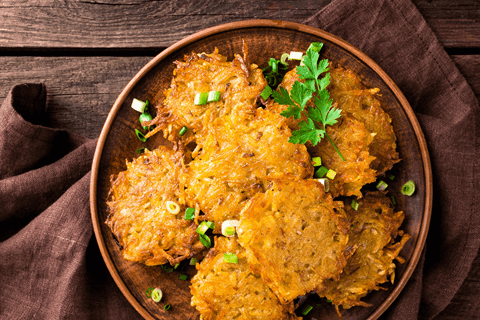 Potato Pancakes (Latkes) - for  food processors