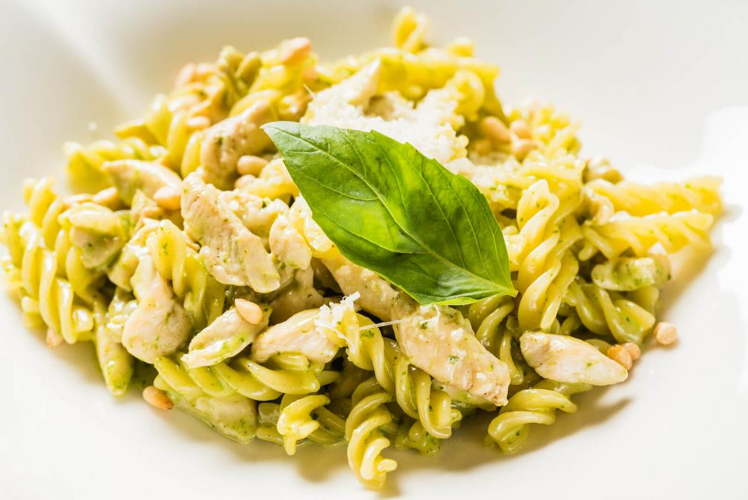 Chicken Pesto Pasta Submitted by Jennifer Bass