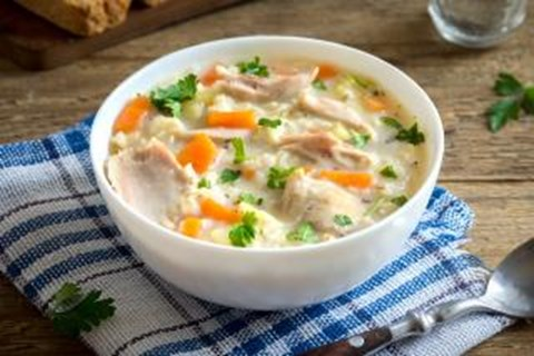 Cheesy Turkey Soup