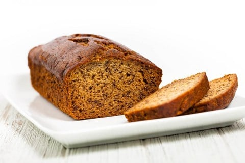 Low- Fat Banana Nut Bread