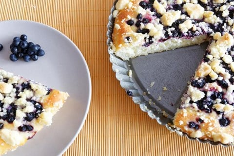 Buttermilk Blueberry Crumb Cake