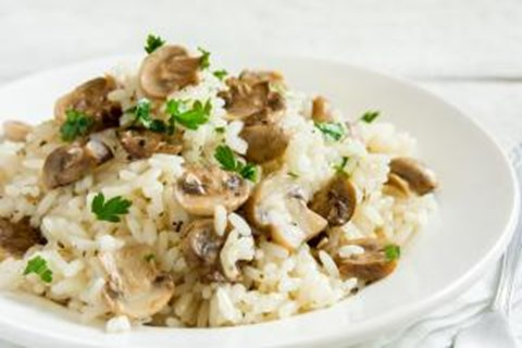 Creamy Fontina Risotto with Mushrooms - 6 Cups