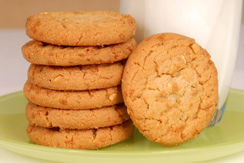 Peanut Butter Cookies - 125 Medium Cookies