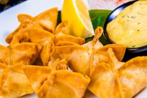 Fried Vegetable Wontons