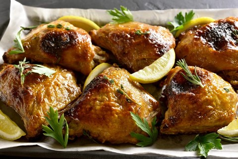 Lemon Chicken with Rosemary – 8 Servings