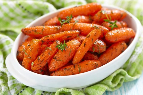 Gingered Glazed Carrots – 8 Servings