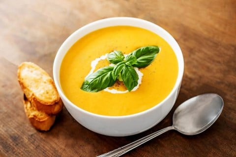 Curried Coconut and Butternut Squash Soup - 5 1/2 Cups