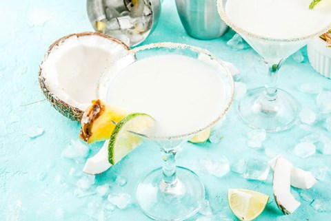 Frozen Tropical Margarita