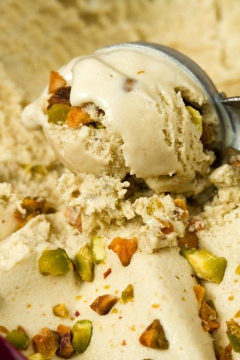 Pistachio Ice Cream 5 cups (about ten ½-cup servings)