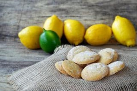 Lemon-Lime Sugar Cookies - 50 Cookies