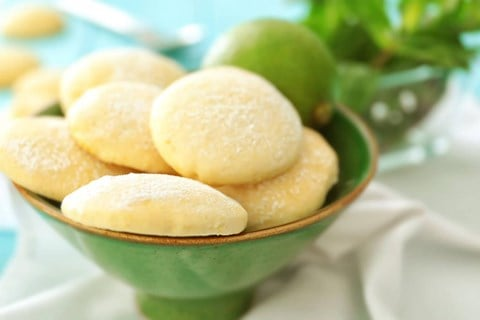 Lemon Lime Sugar Cookies - 3 1/2 Dozen