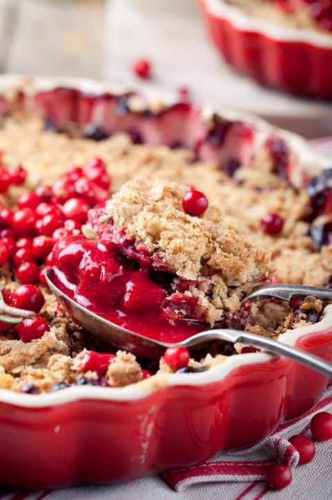 Cranberry Ginger Apple Crisp - Classic Toaster Oven