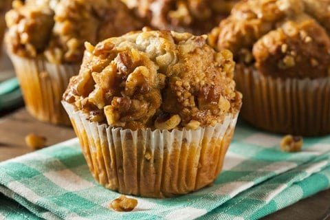 Banana Whole Wheat Muffins - Exact Heat Toaster Oven