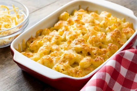 Old Fashioned Macaroni and Cheese