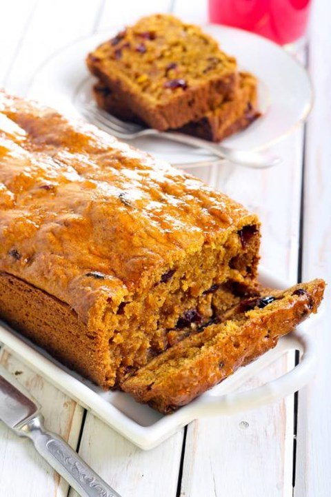 Cranberry Walnut Pumpkin Bread -1 ½ Lb. Loaf