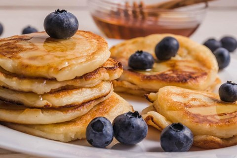 Great Tasting Protein Packed Pancakes