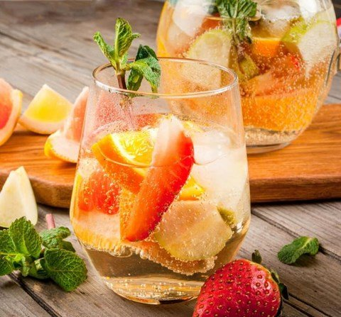 White Sangria - for food processors