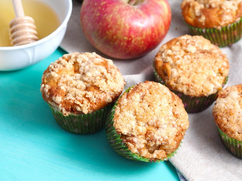 Delicious Apple Crumb Muffins Submitted by JoanneB711