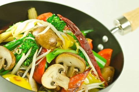Vegetable Stir-Fry - 4 servings