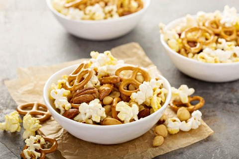 Popcorn Snack Mix (Traditional Oil Popper)