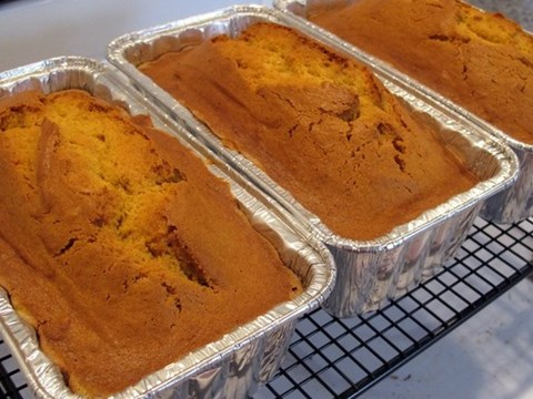 Butter Nut Squash Bread