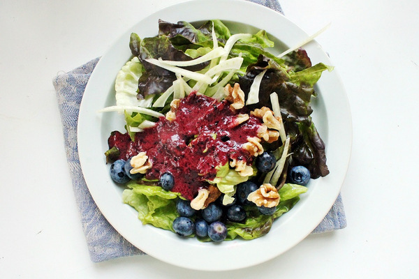 Submitted by Homemade Blueberry Vinaigrette