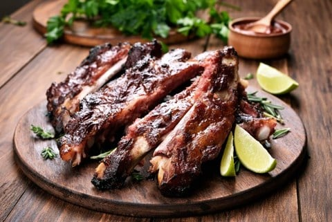 Asian-Style Pork Ribs
