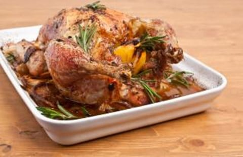 Classic Herb-Roasted Chicken