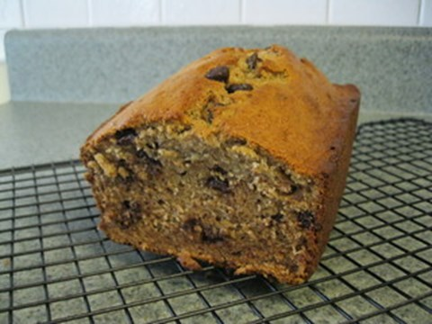 Whole-Wheat Banana Chocolate Chip Bread