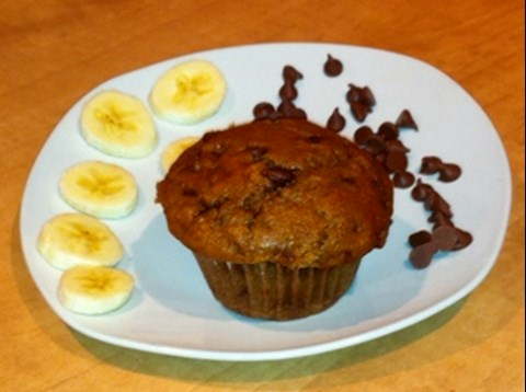 People Pleaser Banana Chocolate Chip Muffins