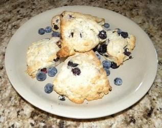 Blueberry Scones Submitted by Loretta