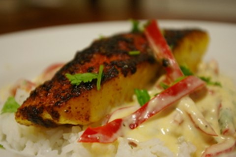 Cindy's Fish in Coconut Sauce
