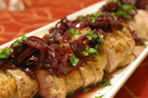 Pork Tenderloin with Agrodolce Sauce