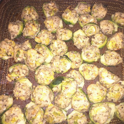 Submitted by Garlic and Herb Stuffed Brussels Sprouts