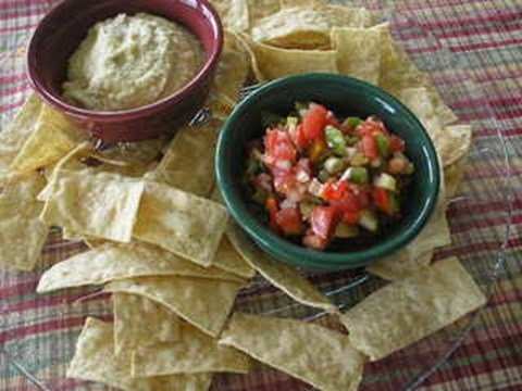 Chunky Red & Yellow Tomato Salsa