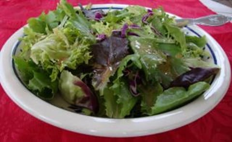 Mixed Greens with Dijon Vinaigrette