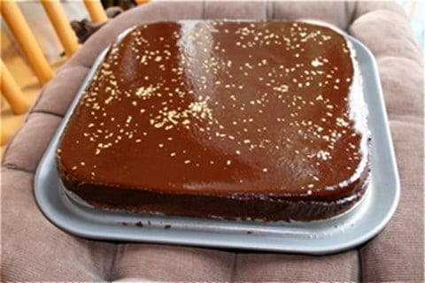 ALMOND CHOCOLATE CAKE (TORTA CAPRESE)