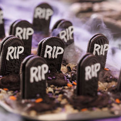 Ghostly Cemetery Submitted by CulinaryArtist