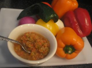 Fresh Garden Salsa Submitted by Nannobear007