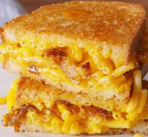 Extra Cheesy Bacon MacGrill Sandwich