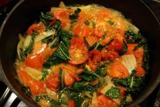 braised kale in apple cider is a joyously colorful dish Submitted by cynthia ryan
