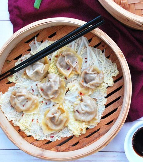 Chicken and Ginger Dumplings